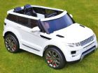 Range Rover HSE Sport Style Car 12v Electric Battery Ride On Jeep White